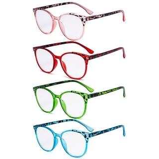 Link to Eyekepper 4 Pack Oversize Round Stylish Readers for Women Reading Similar Items in Eyeglasses