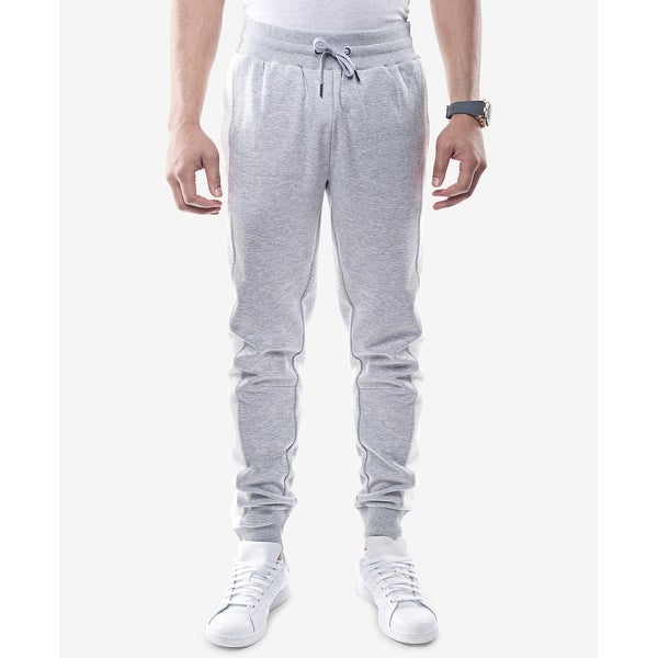 3a3167b2df Shop Sean John Gray Mens Size 2XL White Side Panel Jogging Stretch Pants - Free  Shipping On Orders Over $45 - Overstock.com - 27060512