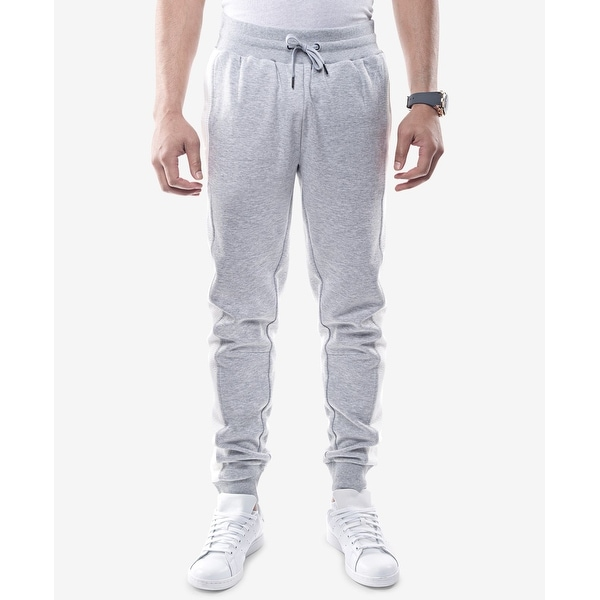 31ed452e38c53 Shop Sean John Gray White Mens Size XL Drawstring Jogging Stretch Pants -  Free Shipping On Orders Over $45 - Overstock - 26982822