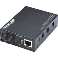 """Intellinet 506519 Intellinet 10/100 Multi-Mode Media Converter, ST, 1.24 miles - Enhance your existing network so it supports"