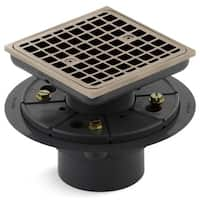 Kohler K-9136 Square Design Tile-In Shower Drain