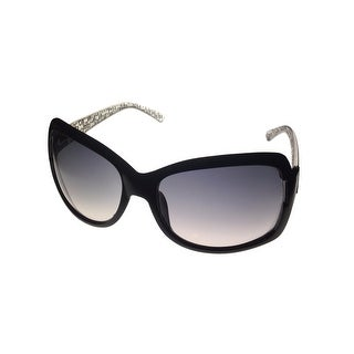 Kenneth Cole Reaction Plastic Womens Sunglass Black,  Gradient  Lens KC1144 1B - Medium
