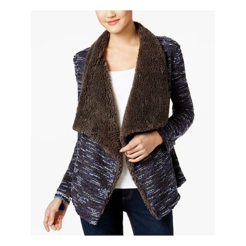 VINTAGE AMERICA BLUES $100 Womens New 1732 Gray Long Sleeve Sweater M