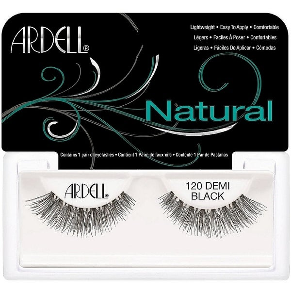 Ardell Fashion Lashes Natural Strip Lash, Demi Black [120] 1 ea