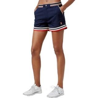 Fila Womens Athletic Shorts Sportswear Contrast Trim