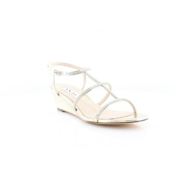 Nina Floria Women's Sandals & Flip Flops Platino