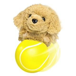 Happy'S Chase And Play Ball - YELLOW - 4.0 in. x 4.0 in. x 4.0 in.