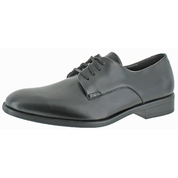 Calvin Klein Men's Dorrel Box Leather Oxford Shoes