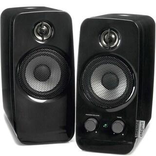 Creative Labs 51Mf1601aa000 Inspire T10 2.0 Multimedia Speaker System, Black