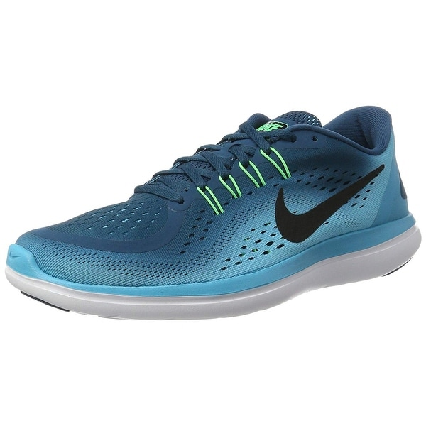 1e4ef0553b27 Shop Nike Mens Flex 2017 Low Top Lace Up Trail Running Shoes - 14 ...