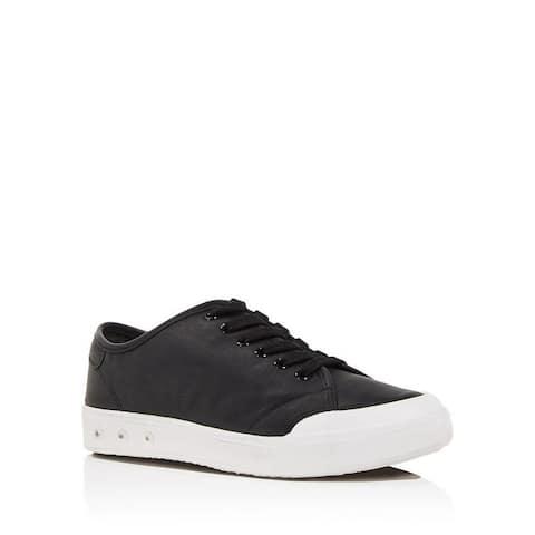 Rag & Bone Standard Issue Black Leather Sneakers