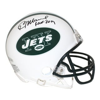 Kevin Mawae AutographedSigned New York Jets Mini Helmet HOF BAS