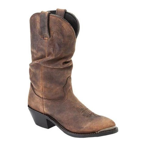 Durango Boot Women's RD542 11 Tan Distress Leather