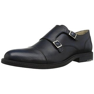 BOSS Hugo Boss Mens Cultroot Monk Shoes Leather Slip On