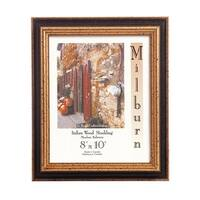 Italian Table Top Frame - Chocolate and Gold