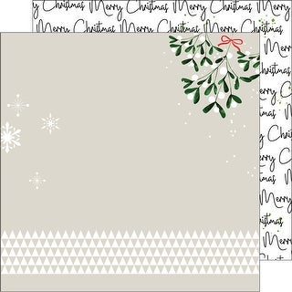 "Oh Joy Double-Sided Cardstock 12""X12-Merry Christmas"