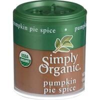Simply Organic Pumpkin Pie Spice - Organic - .46 oz - Case of 6
