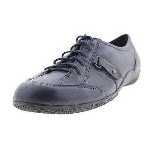 Walking Cradles Womens Dara Leather Lace-Up Oxfords - 6 wide (c,d,w)