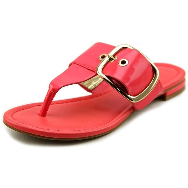 Marc Fisher Paso 2 Women Open Toe Synthetic Pink Thong Sandal