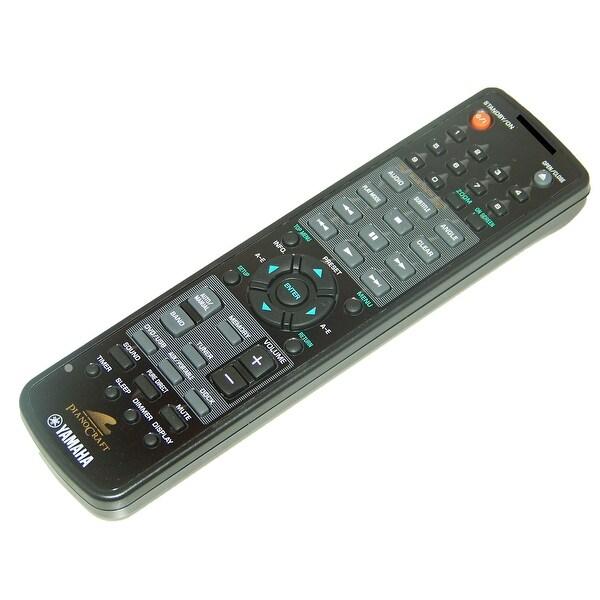 OEM Yamaha Remote Control Originally Shipped With: DRX730, DRX-730, DRX730BL, DRX-730BL, MCR730, MCR-730