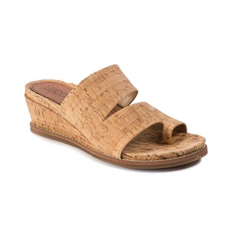 Lucca Lane Whitley Women's Sandals Natural