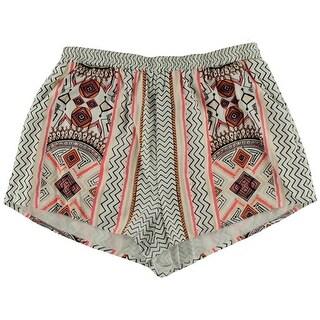 Minkpink Womens Pattern Graphic Shorts - L
