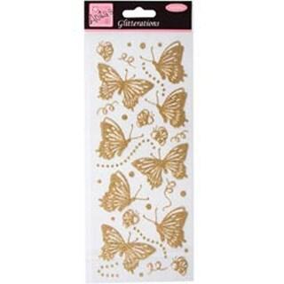 Gold - Anita's Glitterations Butterflies