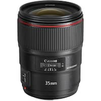 Canon EF 35mm f/1.4L II USM Lens (International Model)