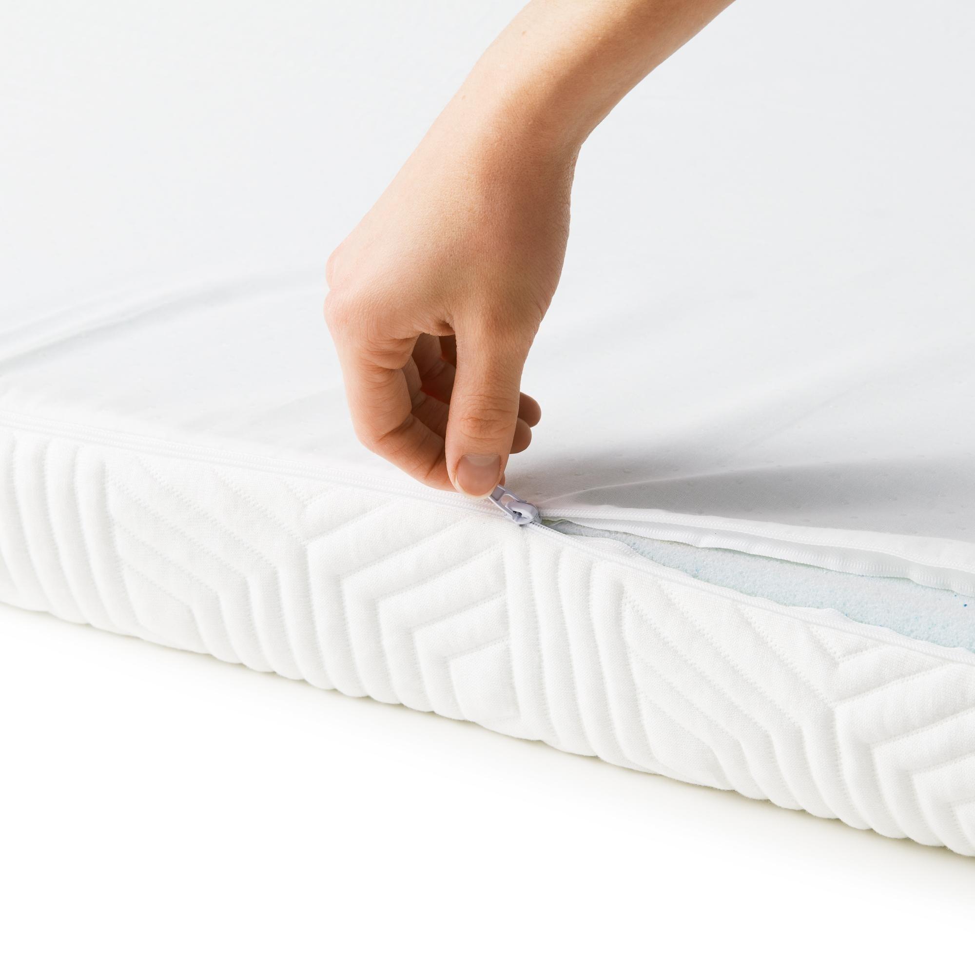 Lucid Comfort Collection 4 Inch Gel Memory Foam Topper Overstock 20689888