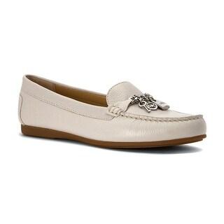 MICHAEL Michael Kors Womens Suki Moc Leather Closed Toe Loafers