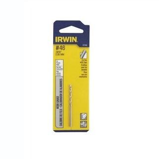 """Irwin 81146 High Speed Steel Wire Gauge Drill Bit, 1-1/8"""" x 2-1/8"""""""
