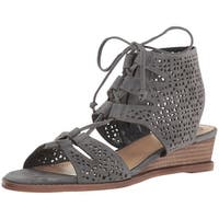 Vince Camuto Womens Retana Leather Open Toe Casual Strappy Sandals