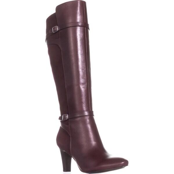 Lauren Ralph Lauren Sabeen Knee High Boots, Port