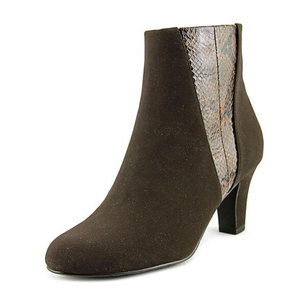 Easy Street Endear Women Brown Lam/Snake Boots
