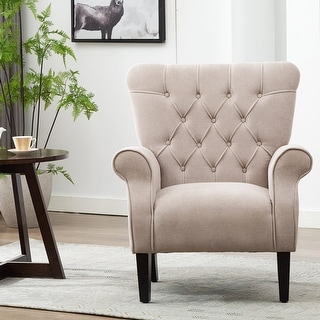 Link to Elegant Mid-century Style Accent Arm Chair Similar Items in Accent Chairs