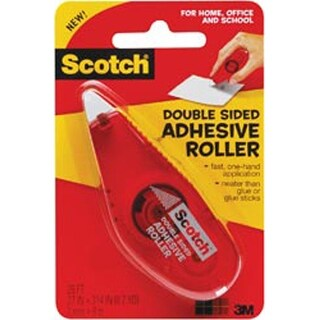 """.27""""X8.7Yd - Scotch Double-Sided Adhesive Roller"""