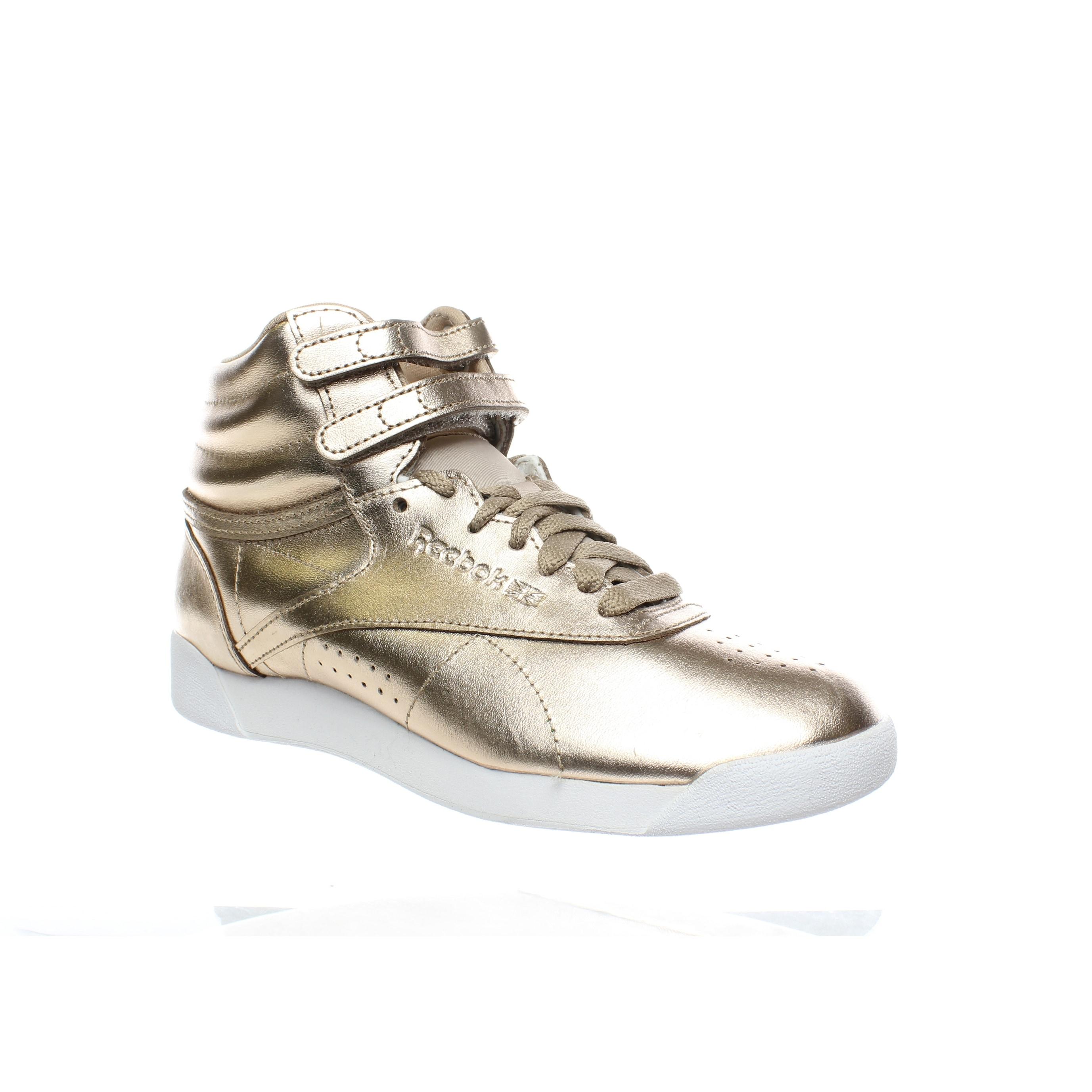 Reebok Womens F/S Hi Metallic Rose Gold