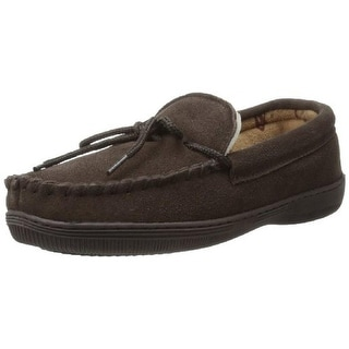 Lamo Mens Terry Suede Loafer Moccasins - 9 medium (d)