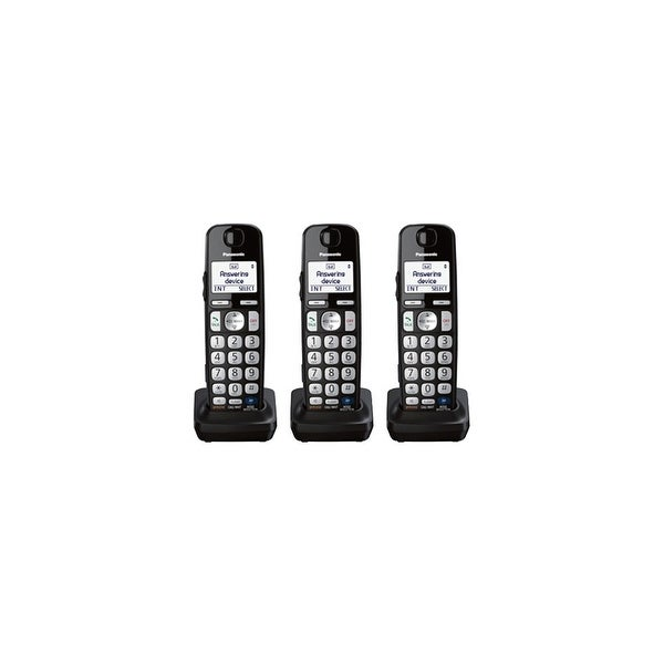 Panasonic KX-TGEA20B 3 Pack Additional Digital Cordless Handset