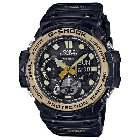 G-Shock Master of G - Vintage Gold Black - Black / One Size