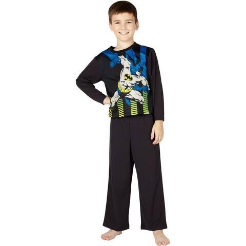 DC Comics Boys Little Superman Knock Out Pajama Set