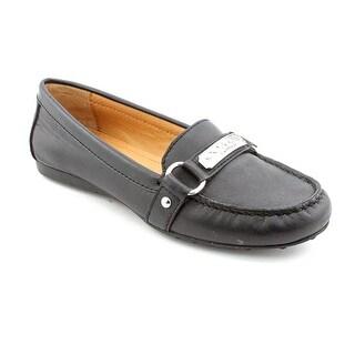 Coach Felisha Moc Toe Leather Loafer
