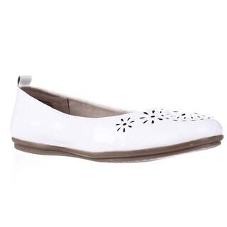 Easy Spirit Gramercy Comfort Ballet Flats - White
