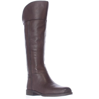 Franco Sarto Christine Riding Boots - Dark Java