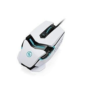 Iogear Gme670 Kaliber Gaming Fokus Pro Usb Laser Gaming Mouse Imperial White