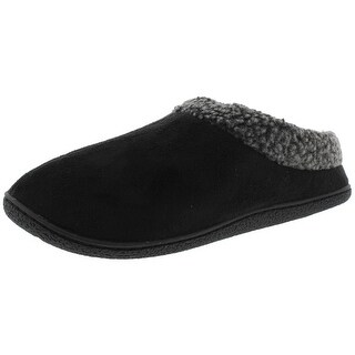 32 Degrees Heat Mens Clog Slippers Weatherproof Faux-Fur