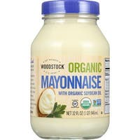 Woodstock Organic Mayonnaise - Case of 12 - 32 oz.