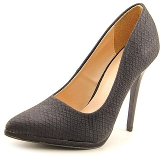 Qupid RAND-39 Women Pointed Toe Synthetic Heels
