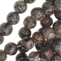 Dark Brown Agate 6mm Round Beads /15.5 In. Strand - Thumbnail 0