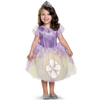 Disguise Sofia the First Tutu Deluxe Toddler/Child Costume - Purple